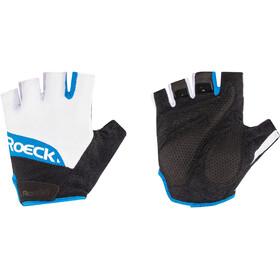 Roeckl Bozen Handschuhe weiß/blau